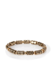 Forever 21 Tribal Inspired Bead Bracelet Bronze