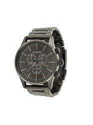 Nixon 'Sentry Chono' Watch Grey