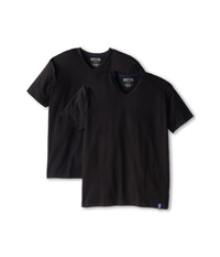 Kenneth Cole Reaction 2 Pack V Neck Tee Black Men's T Shirt