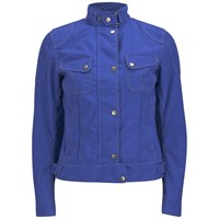 Matchless Women's Racefarer Nylon Jacket Royal Blue