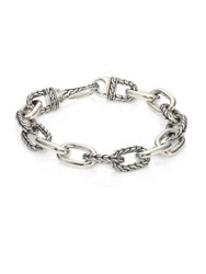 John Hardy Classic Chain Sterling Silver Small Anchor Rode Link Bracelet