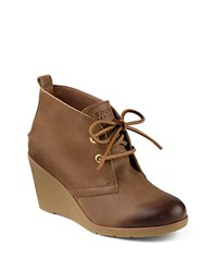 Sperry Harlow Ankle Boot Cognac