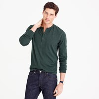 J.Crew Tall Solid Flagstone Henley