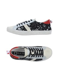 D.A.T.E. Footwear Low Tops And Trainers Women Black