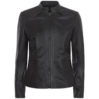 Jaeger Leather Jacket Black