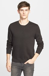 Men's Blk Dnm Crewneck Sweatshirt