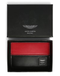 Hackett Black And Red Card Wallet