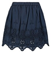 Pepe Jeans Lacy Aline Skirt Dulwich Dark Blue