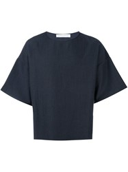 Societe Anonyme Boxy T Shirt Blue