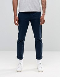 Original Penguin Skinny Stretch Chino Trousers Navy