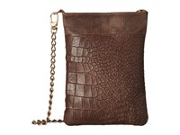 Leather Rock Hk14 Chocolate Handbags Brown