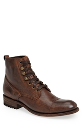 Sendra 'Station' Cap Toe Boot Brown Corona