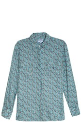 Paul And Joe Liberty Shirt Blue