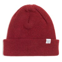 Norse Projects Red Clay Wool Beanie
