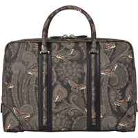Givenchy Butterfly Paisley L.C. Briefcase Multi