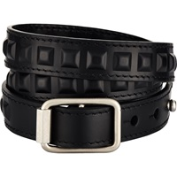 Triple Wrap Bracelet Black