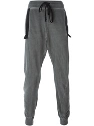 Lost And Found Rooms Tapered Track Pants Grey