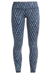 Gap Tights Turq Blue Multi