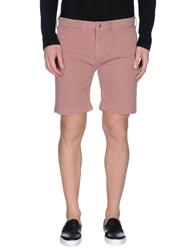 Remi Relief Trousers Bermuda Shorts Men Pastel Pink