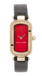 Marc Jacobs The Watch Gold Red Black