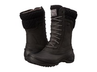 The North Face Shellista Ii Mid Tnf Black Plum Kitten Grey Women's Cold Weather Boots