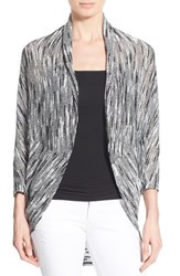 Women's Chaus Dolman Sleeve Oval Cut Cardigan