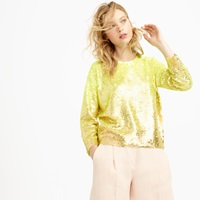 J.Crew Pre Order Collection Neon Ombre Sequin Sweater