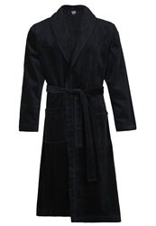 Calida After Shower Dressing Gown Onyx Dark Blue