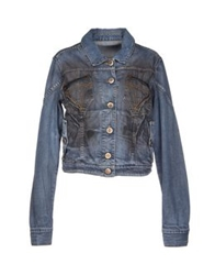 Andrew Mackenzie Denim Outerwear Blue