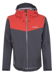 Berghaus Velum Outdoor Jacket Carbon Koi Orange Black