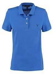 Gant The Summer Polo Shirt Palace Blue