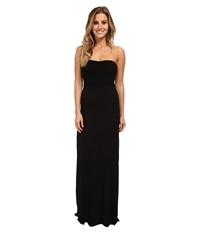Hurley Tomboy Maxi Strapless Dress Black Women's Dress