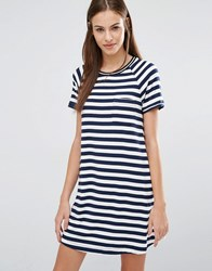 Abercrombie And Fitch T Shirt Stripe Dress Cc200 Multi