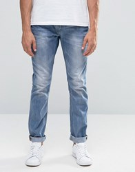 Blend Of America Twister Slim Jeans Vintage Wash Light Blue