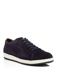 To Boot New York Barlow Lace Up Sneakers Blue Brown