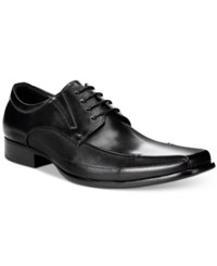 Kenneth Cole Reaction Self Review Oxford Shoes Men's Shoes Black