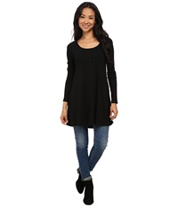 Gabriella Rocha Sharlean Tunic Black Women's Blouse