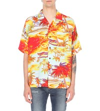 Not Applicable 1970S Hawaiian Shirt Multi