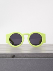 Karen Walker Eyewear Blue Moon Fluro Yellow At Gargyle