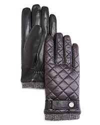 Polo Ralph Lauren Quilted Nylon Gloves Polo Black