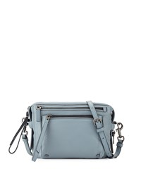 Cube Lamb Leather Messenger Bag Ice Blue Marc By Marc Jacobs
