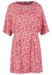 United Colors Of Benetton Summer Dress Red
