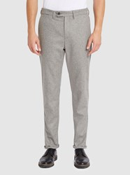 Norse Projects Grey Thomas Light Wool Slim Fit Trousers
