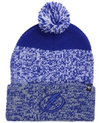47 Brand '47 Tampa Bay Lightning Static Knit Hat Light Royal