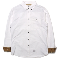 Haven X Haven Camo Oxford Set In Bd Shirt White Desert