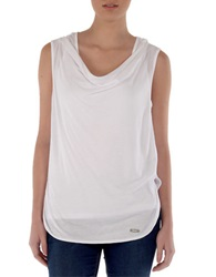 Bench Tranquilaze Cowlneck Top Bright White