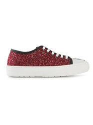 Markus Lupfer Glitter Sneakers Red