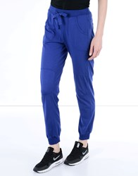 Deha Trousers Casual Trousers Women Bright Blue