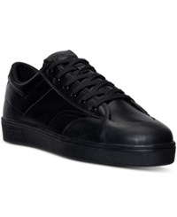 Pony Men's Vintage Slam Dunk Lo Ul Casual Sneakers From Finish Line Black Mono