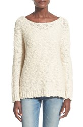 Women's Glamorous Nubby Stitch Pullover Sweater